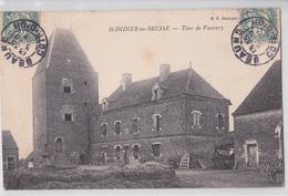 Saint-Didier-en-Bresse - Tour De Vauvery - Autres Communes