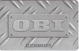 Geschenkkarte  OBI  Gift - Gift Cards