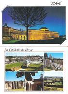 BLAYE. 2 CP La Citadelle - Multivues - Blaye