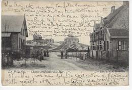 BELGIQUE - LA PANNE - Chemin Conduisant à La Mer - Animée - 1905(J180) - De Panne