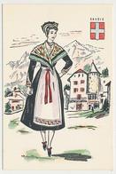 CPSM 10.5 X 15 Costume Folklorique SAVOIE Femme Illustrateur Margotton - Illustrators & Photographers