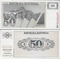 Slovenia 1990 - 50 Tolar - Pick 5 UNC - Slovénie
