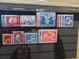 DDR Jahrgang 1951 Postfrisch Komplett Ohne 286/88 (6656) - DDR