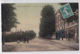 LE PLESSIS-TREVISE -  Avenue Ardouin - Cpa Glacée Colorisée - Le Plessis Trevise