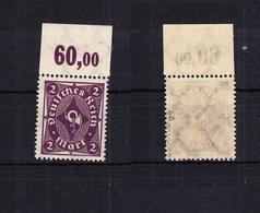 Deutsches Reich 224aaP OR ** Postfrisch Geprüft Infla Berlin #RF083 - Germany