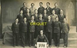 29 Quimper, Carte Photo D'un Groupe De J M C ( Jeunesse Catholique ? ) , Phot. Le Grand - Quimper