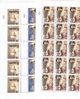 Jordan2009, Visit Pope Benedictus To Jordan Complete Sheet Unfolded 3v. (20 Sets)cpl MNH- Reduced Price- SKRILL ONLY - Jordan
