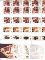 Jordan 2008, National Costumes 4v. X 10 Sets Corners + 10 Souv. Sheets MNH Cpl. Scarce- Redcued Price - SKRILL ONLY - Jordan