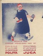 Facture 1952 / 64 MAULEON-SOULE / APPALASPE / Sandales POLITA JUCA MAITENA - Francia