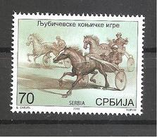 SERBIA 2018 Ljubicevo Equestrian Games, Sport, Hors, Mamals,SHEET,MNH - Horses