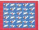 Feuille De Vignettes De Noël Du Groënland 2007 Neuve Avec Oiseau - Sonstige