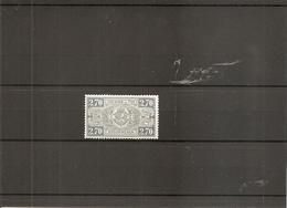 Belgique ( TR 153 XXX -MNH) - Bahnwesen