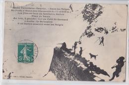 Haute-Tarentaise (Savoie) - Dans Les Neiges Au Poste Des Chasseurs Alpins Du 11e Les Tirs En Face Du Territoire Italien - France