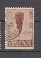 COB 353 Oblitéré MAREDRET-SOSSOYE Cachet Rond Central Ballon Piccard Montgolfière - Used Stamps