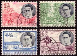 Congo 0329/32 (o) Baudouin - Congo Belge