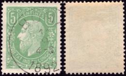 Congo 0001(o) Léopold II - Congo Belge