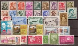 (Fb).Repubblica.1961-66.Tutte Le Emissioni,nuovi,freschi,gomma Integra,MNH (6 Scan) (118/123-13) - 6. 1946-.. Republic