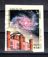 Italia   -   Osservatorio Astronomico Di Brera.Galassia. Astronomical Observatory Of Brera.Galassia. Self Adhesiv - Astronomia