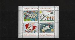 Canada -2000- Children Paint- 4-block 53- MNH(**) - Michel BL53 - 1952-.... Règne D'Elizabeth II