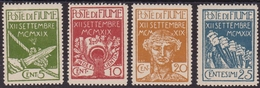 297 * Fiume – 1920 Legionari N. 127/130. Cat. € 550,00 - 8. Occupazione 1a Guerra