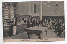 LUXEMBOURG - CAFE JENTGEN - PLACE D'ARMES - BILLARD - Luxembourg - Ville