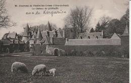 Cotes D'armor : PLESTIN-les-GREVES : Le Chateau De Lesmaes ( Attention Déchirure 8mm Angle Haut Droit ) - Plestin-les-Greves