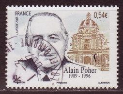 FRANCE - 2006 - YT N° 3994 - Oblitéré - Alain Poher - France