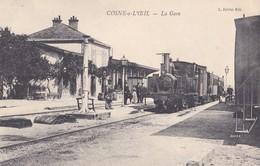 Cosne Sur L'oeil  La Gare ( Train Chemin De Fer )   PRIX FIXE - Non Classés