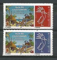 NOUVELLE CALEDONIE (New Caledonia)- Timbre Personnalisé - OPT - 2017 - Salon Collectionneurs Nouméa - Nueva Caledonia
