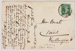 "1913, Seltener Graubünden - L1 "" REAMS ""  , # A1501 - Poststempel"