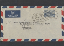 INDIA Postal History Letter Brief IN 112 Air Mail Golden Temple Amritsar - Storia Postale