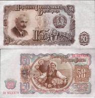 Bulgaria 1951 - 50 Leva - Pick 85 UNC - Bulgarie