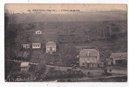 Carte Postale Ancienne Grainfal ?? HOTEL Vue De Face - Francia