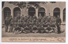 LUXEMBOURG - DIE MUSIKKAPELLE DER FREIWILLIGENKOMPAGNIE - AU DOS PROGRAMME WARENHAUS M. KNOPF LUXEMBURG - Luxembourg - Ville