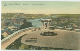 Namur-Citadelle 1916; Le Donjon. Tourelle Des Guetteurs - Voyagé. (Thill - Bruxelles) - Namur