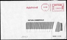 "Italia/Italie/Italy: Ema, Meter, ""AGIP PETROLI"" - Oil"