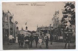 LUXEMBOURG - AUF DER SCHOBERMESSE - LA FOIRE - MANEGE - CAFE JENTGEN - Lussemburgo - Città