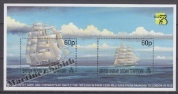 British Indian Ocean 1999 Yvert BF 12, Austarlia 99 Philatelic Exhibition - Miniature Sheet- MNH - British Indian Ocean Territory (BIOT)