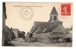 28 EURE ET LOIR - BAIGNOLET L'Eglise Et La Rue Principale - Other Municipalities