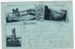 90  BELFORT  Souvenir De ........1870/71..... - Belfort – Siège De Belfort