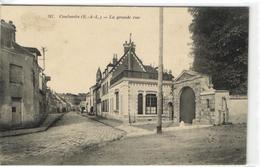 1 Cpa Coulombs - La Grande Rue - Non Classificati