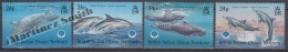 British Indian Ocean 1998 Yvert 211- 214, Marine Fauna - Whales - MNH - Territoire Britannique De L'Océan Indien