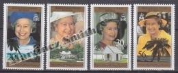 British Indian Ocean 1996 Yvert 177- 180, 70th Anniversary Of H.M. Queen Elizabeth II - MNH - British Indian Ocean Territory (BIOT)