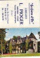 """Calendrier 1966 Publicitaire """"le Livre D'or"""" Librairie L. PIOGER Paris - Calendars"""