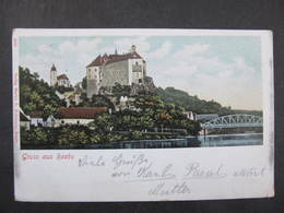 AK RAABS B. Hollabrunn 1900  //  D*35478 - Hollabrunn