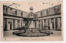 (41) 2634, Saint St Aignan, BF Paris 11, Cour Intérieure De L'Hospice, Dos Non Divisé - Saint Aignan