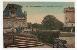 (41) 2683, Saint St Aignan Sur Cher, Godeberge Colorisée 95, Le Château Et Le Donjon - Saint Aignan