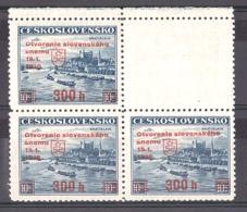 Slovaquie - 1939 - N° 35A En Bloc - Timbres Surchargés - Slowakische Republik