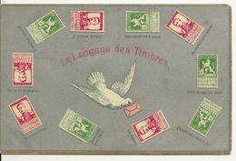 LE LANGAGE DES TIMBRES - Postzegels (afbeeldingen)