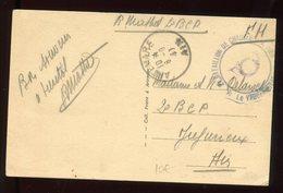 Carte Postale De Artemare En FM En 1940 - N288 - Marcophilie (Lettres)